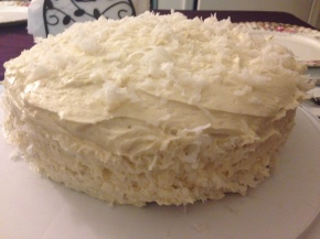 Recipe: White Chocolate Coconut Cake