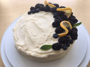 Recipe: Lemon-Coconut Milk Cake with Cream Cheese Frosting